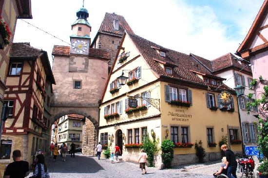 Nemačka  Romantik-hotel-markusturm
