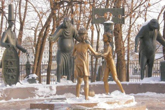 Statue i spomenici posvećene deci Monument-the-children
