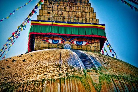 Структуры - Страница 3 Bodnath-stupa