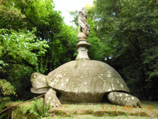 Le jardin des monstres de Bomarzo Parco-dei-mostri