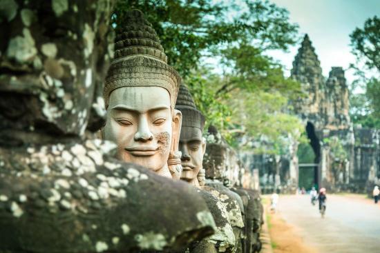 Los mejores sitios de interés turístico del planeta Angkor-wat