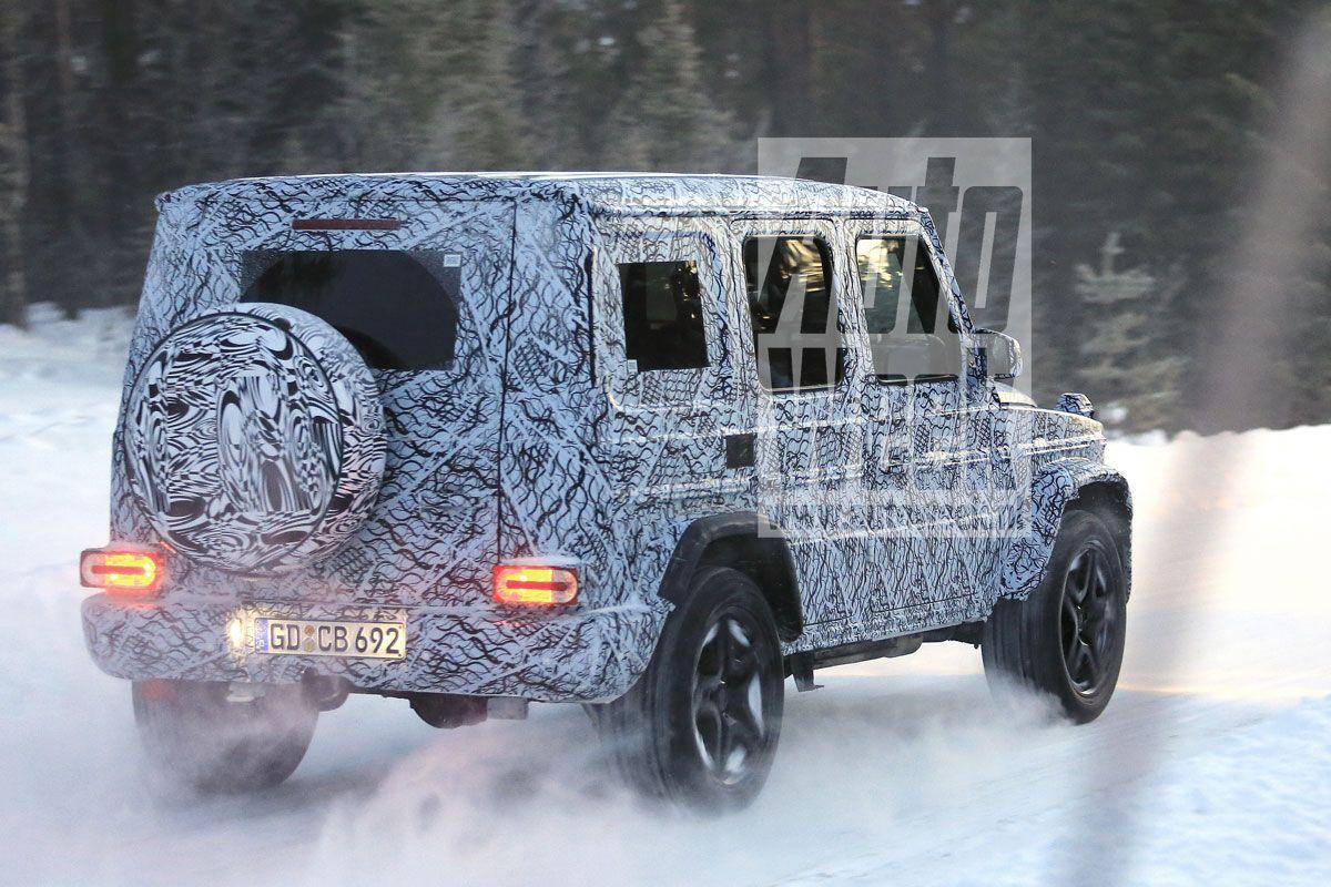 2017 - [Mercedes-Benz] Classe G II - Page 2 859yuv4b0b15
