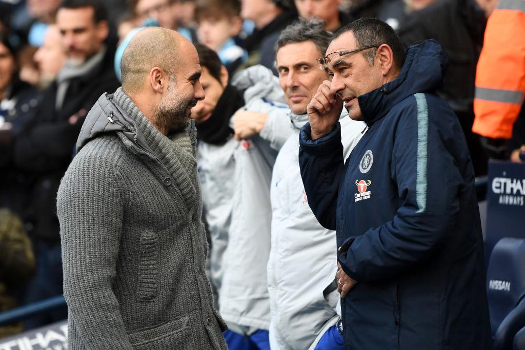 Guardiola: 'Tôi sẽ chẳng thèm nhận công việc tại Chelsea' 3a1-1035
