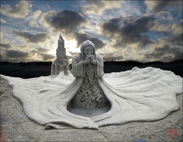Un Art Ephémère Sculpture-sur-sable-1