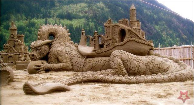 Un Art Ephémère Sculpture-sur-sable-14