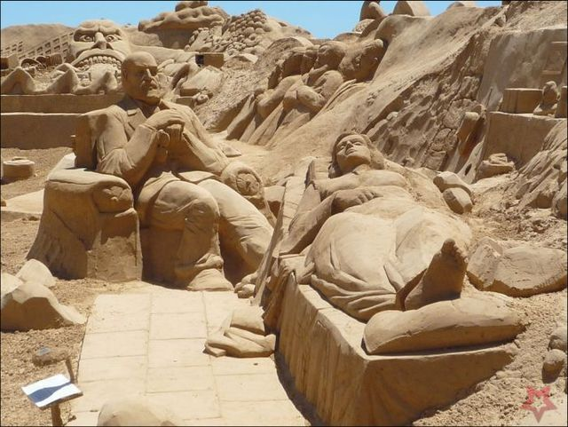 Un Art Ephémère Sculpture-sur-sable-17