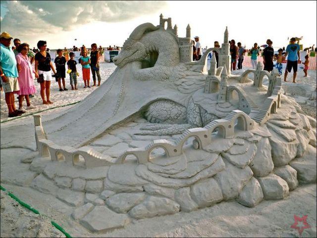 Un Art Ephémère Sculpture-sur-sable-26