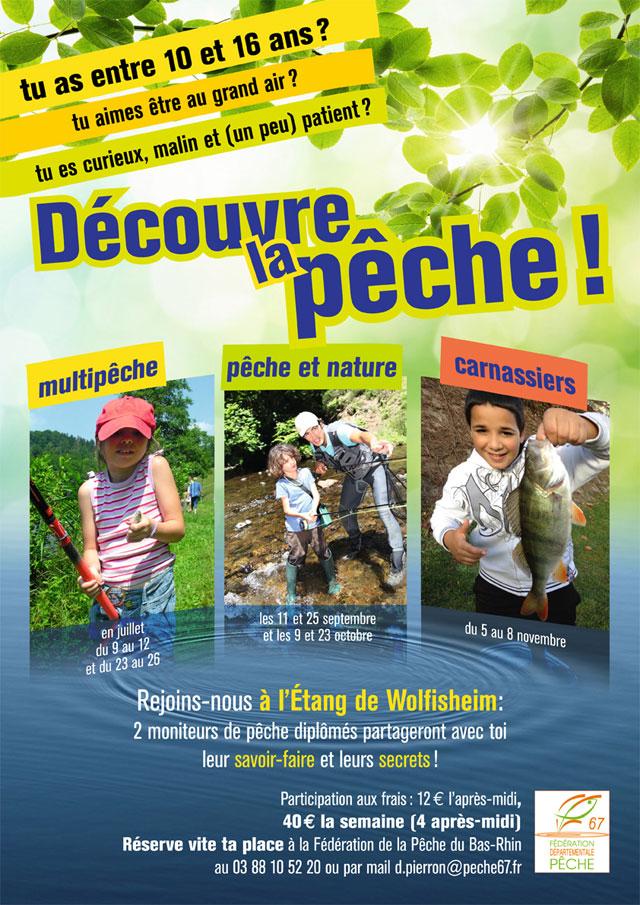 Des ateliers pêche pour enfants en Alsace 2013. 461821