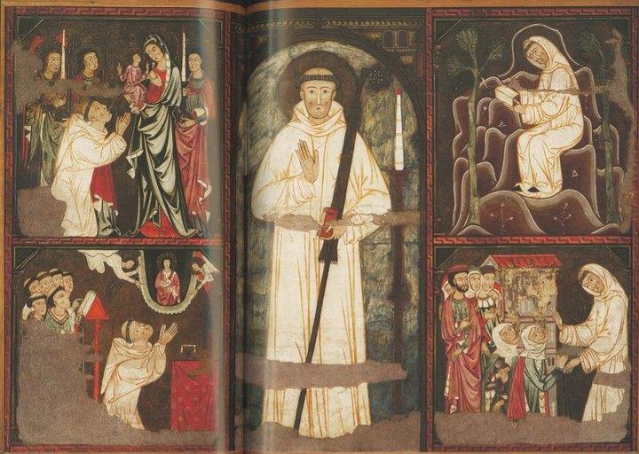 ✟Les Saints - Les Saintes du  Jour✟ Retable-saint-bernard-429921_2