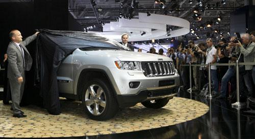 Новый Jeep Grand Cherokee 2011 модельного года представлен вчера на Московском Международном Автосалоне. IMG_0867m