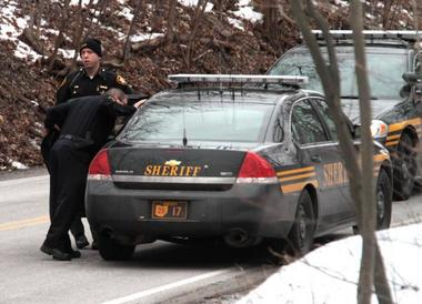 5 students shot at Chardon High School; three have died. Suspect, TJ Lane, in custody. Lane did NOT Attend Chardon High School!! Found Guilty of 3 Life Sentences!! 10616590-large