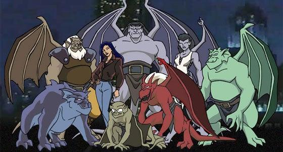vos avis sur les animés  Gargoyles-124145