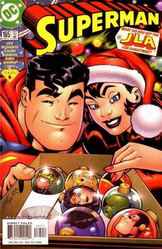 Portadas Navideñas Christmas-superman-lois-lane