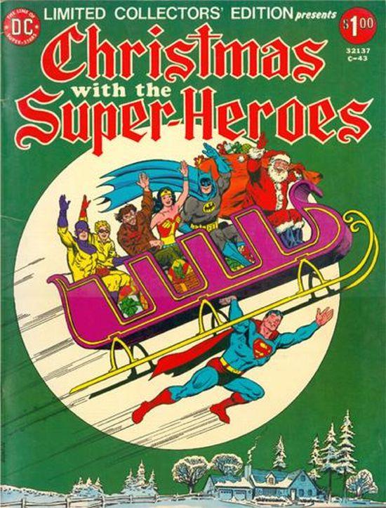 Portadas Navideñas Christmas-with-superheroes-superman