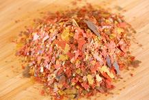 Poisson rouge ne mange plus, constipé et écailles hérissées Aquarium-nourriture-preview-8207758