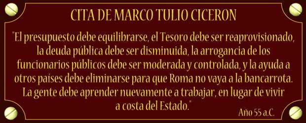 MARCO TULIO CICERON Ciceron
