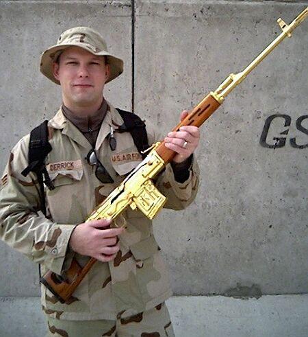 سلاح قناص بغداد .... سلاح دراغونوف الروسي... تبوك العراقي .....  981070