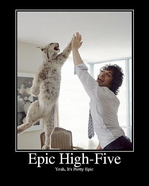 Christmas Countdown - Page 10 EpicHighFive