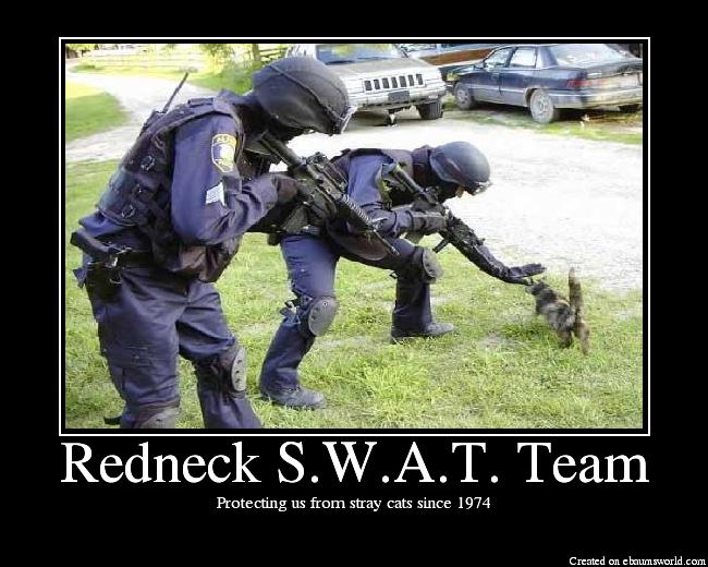 [Dead] COMBO BREAKER!  Now a battle of the Racists RedneckSWATTeam