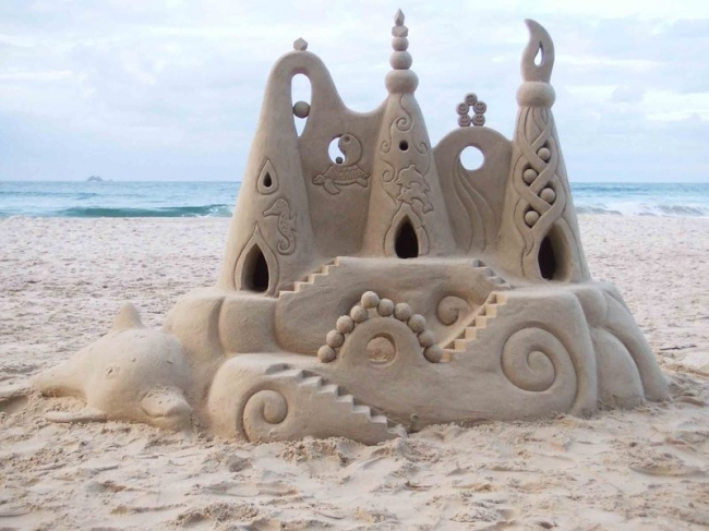 صور حلوه ومعبره Sand_castle