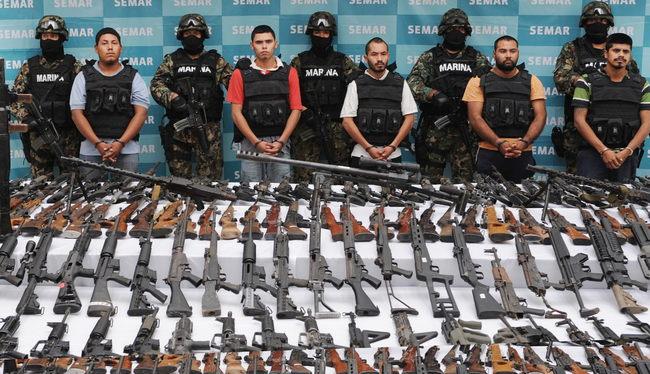 Unión - Caen cinco con arsenal en Villa Unión, Coahuila  300581