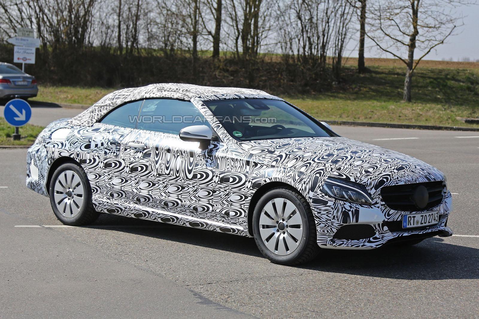 (DIVERSOS): Classe S Cabrio e Classe C Cabrio serão apresentadas no Salão de Frankfurt C-class-and-s-class-cabriolet