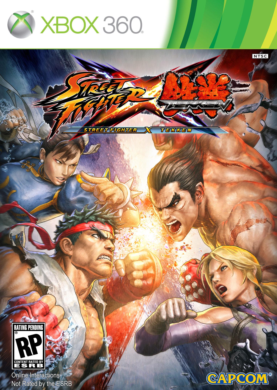 Caratula del Street Fighter vs Tekken 01_sfxtcover01