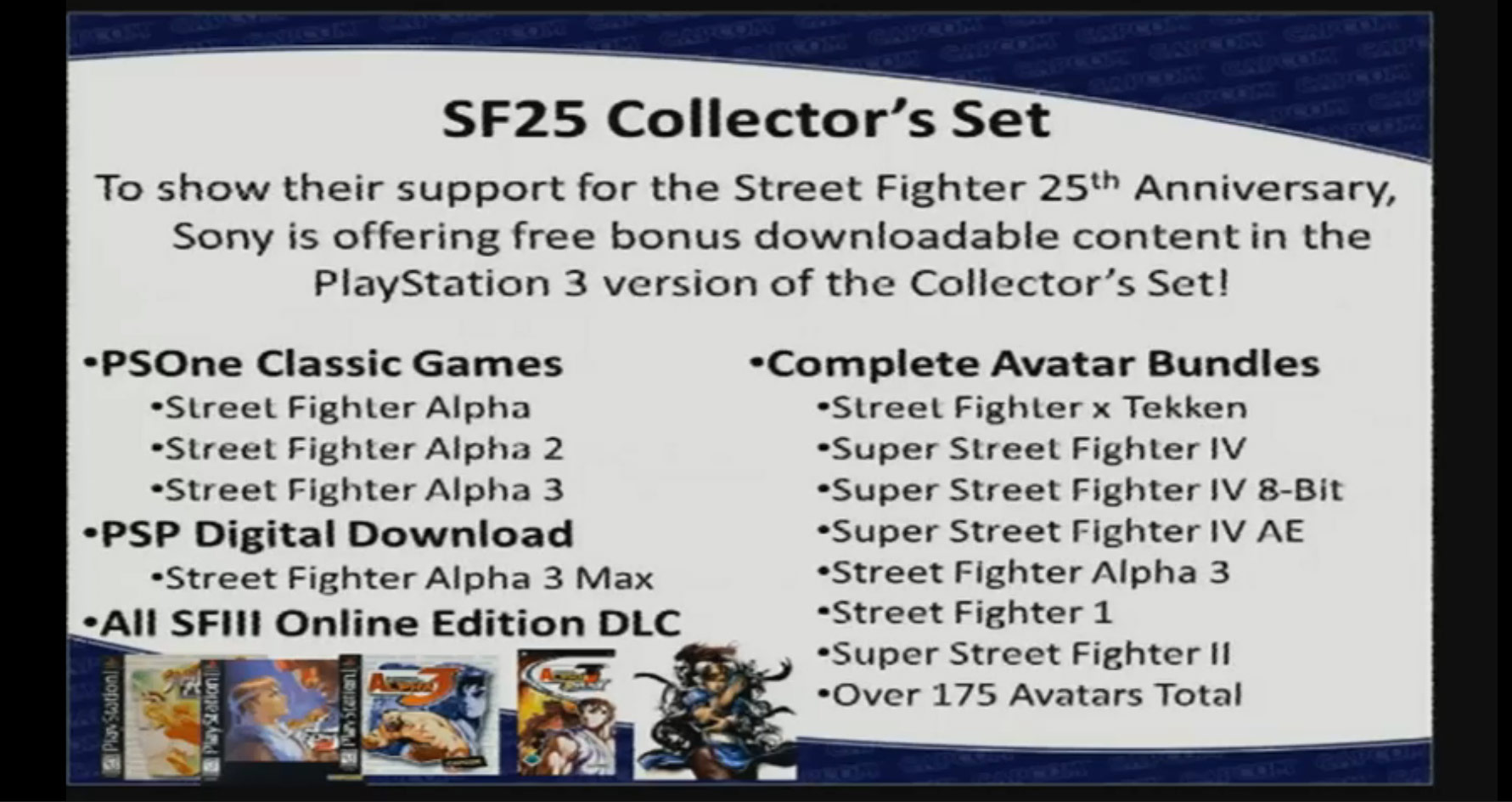 Street Fighter 25th Anniversary Collector's Set - Video do Unboxing! 07_capcompanel01