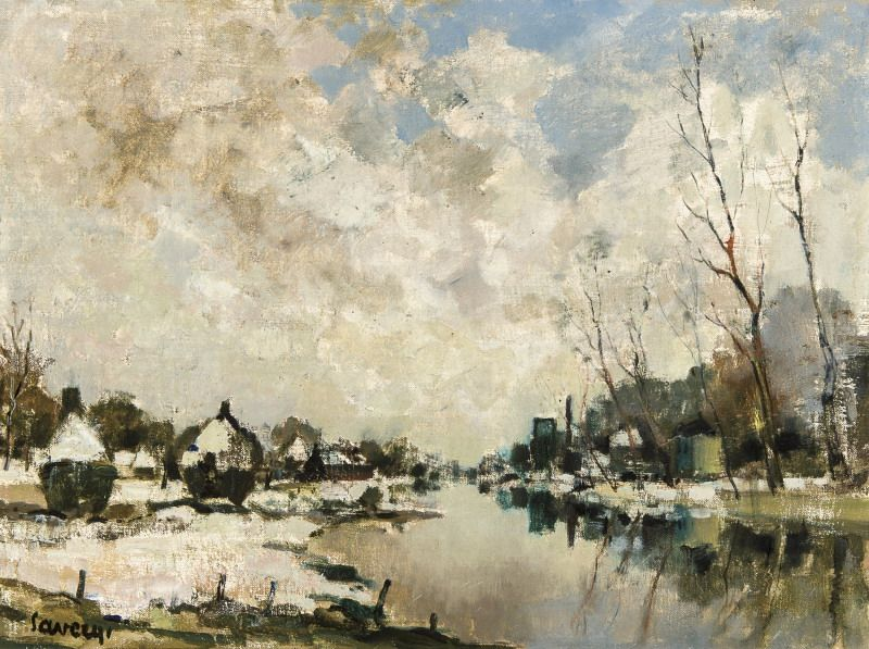 Peintre Belge  A003622997-001