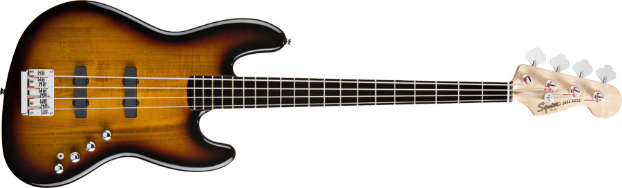 Squier Deluxe Jazz Bass IV Active x Squier Jazz Bass Vintage Modified '77 0300574500_frt_wmd_001