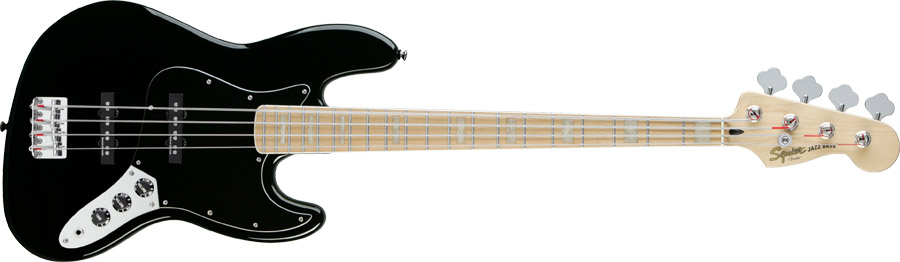 Squier Deluxe Jazz Bass IV Active x Squier Jazz Bass Vintage Modified '77 0327702506_frt_wmd_001