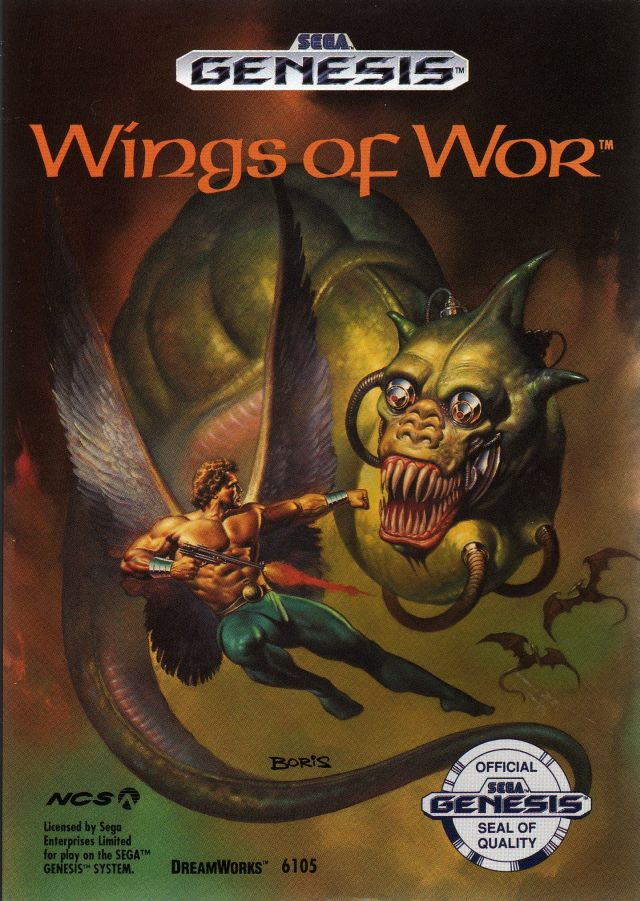 [RCH]- shoot'em up tout support WINGS_OF_WAR_GENESIS_BOX_FRONT