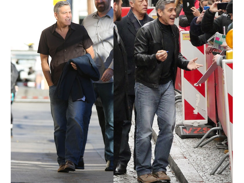 """George Clooney """"Is in Desperate Need of a Denim Intervention"""" Clooneyjeans"""