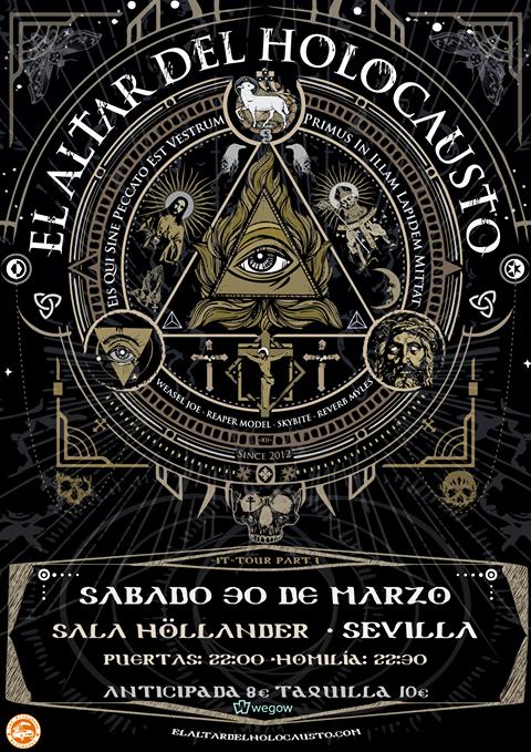 El Altar Del Holocausto: ¡¡¡✞ EADH DEBUT ALBUM - H Ǝ -  EN VINILO✞ !!!!! - Página 6 El-Altar-del-Holocausto-presenta-su-nuevo-disco-en-Sala-Hollander-de-Sevilla