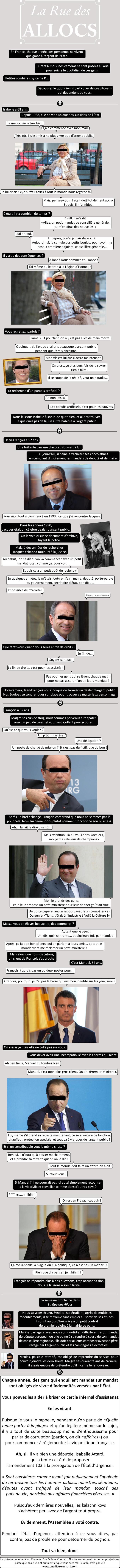 Rue des Allocs : Episode - Les politiques 01