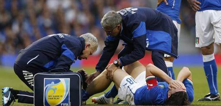 مونتوليفو يتعرض لإصابة تبدو قوية أمام أيرلندا قد تبعده عن المونديال  12014_5_31_23_12