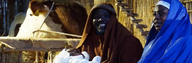 Italie: Sacrilège d'une crèche représentée par une famille musulmane ! Creche-noel-islam-musulman-immigration