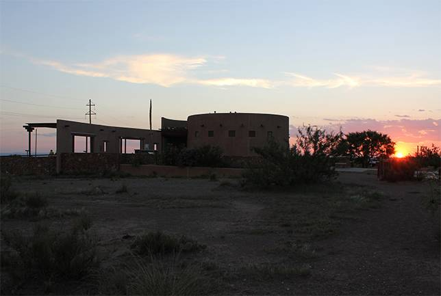 The Mystery of the Marfa Lights (Strange Glowing Orbs In Texas) Marfa-viewing-station