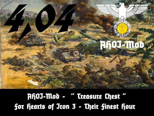 """AHOI Mod - A HOI3 Treasure Chest"" for TFH - Download and main information AHOI-Mod-TFH-404"