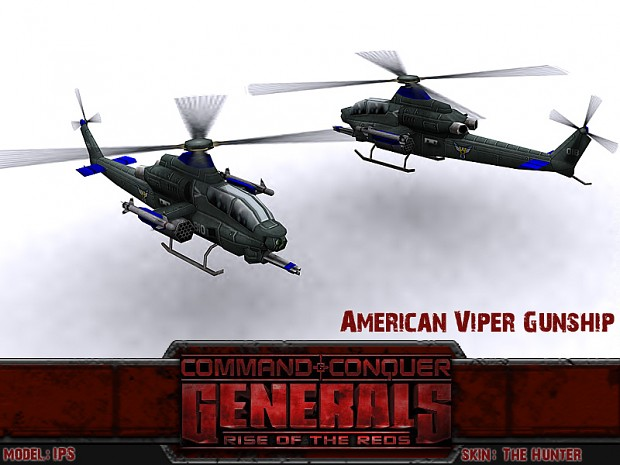 [Mod] Rise Of The Reds - Generals: Zero Hour American_Viper