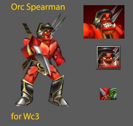 Fel Spear Thrower Spearman Spearman