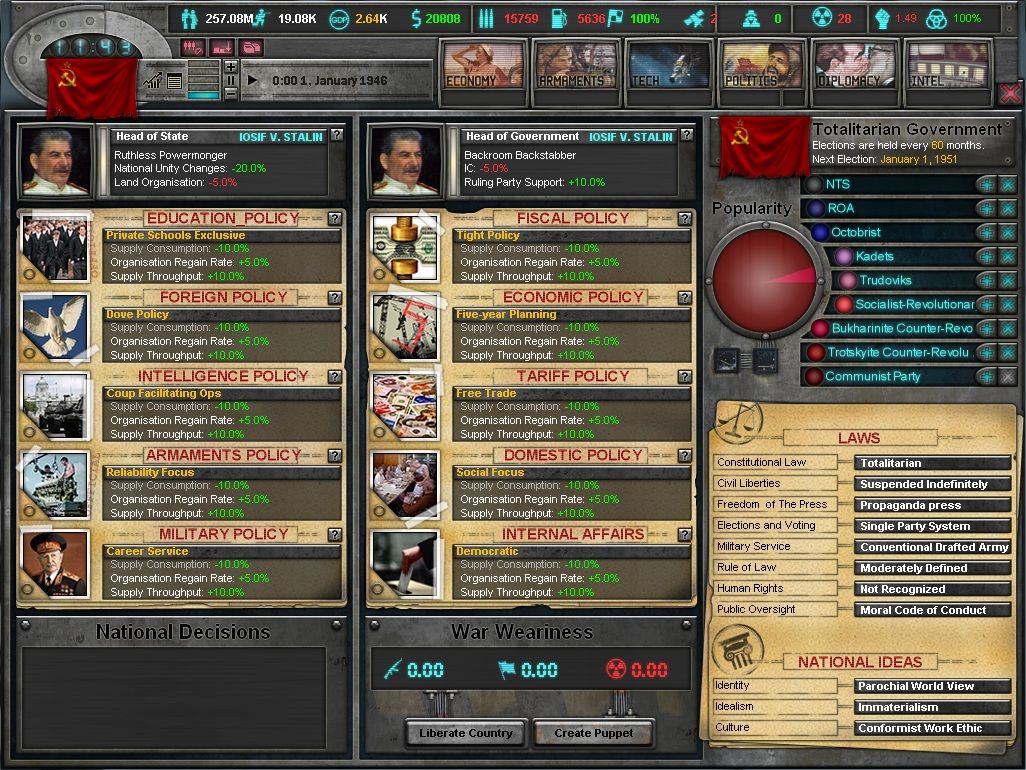 East vs. West - A Hearts of Iron Game- Info East_vs_west_7