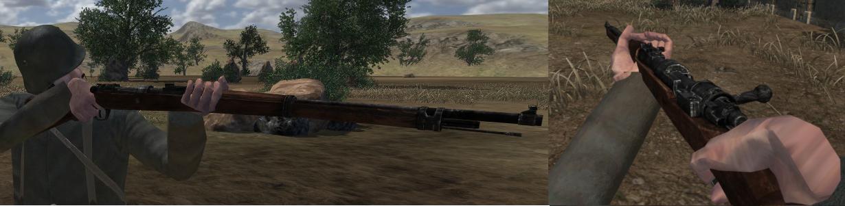 [NW] Iron Europe Gewehr98ingame