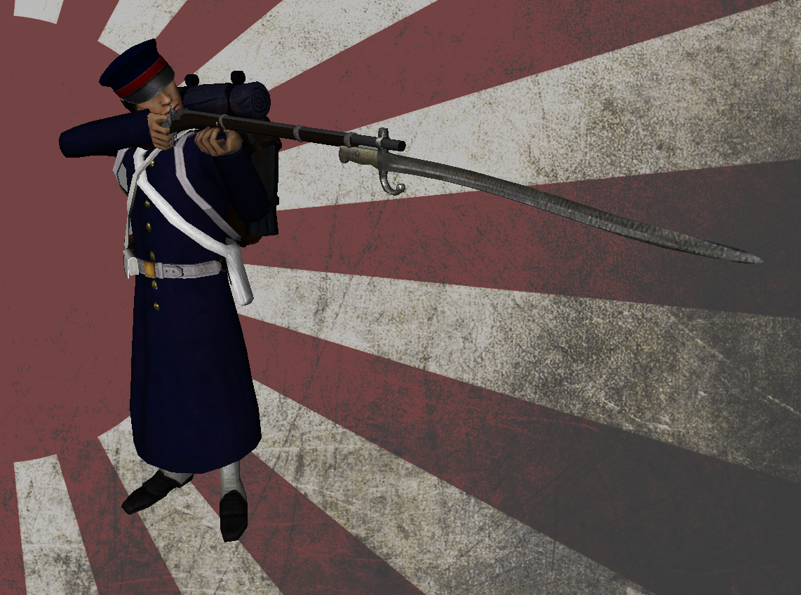 [MP][EN] Blood and Iron Age of Imperialism Tosa_Infantry
