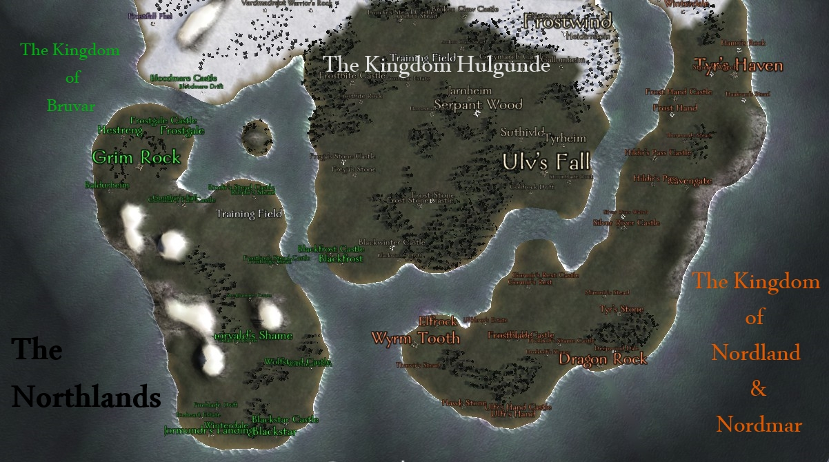 [SP][EN] Nordland Northlands_Map