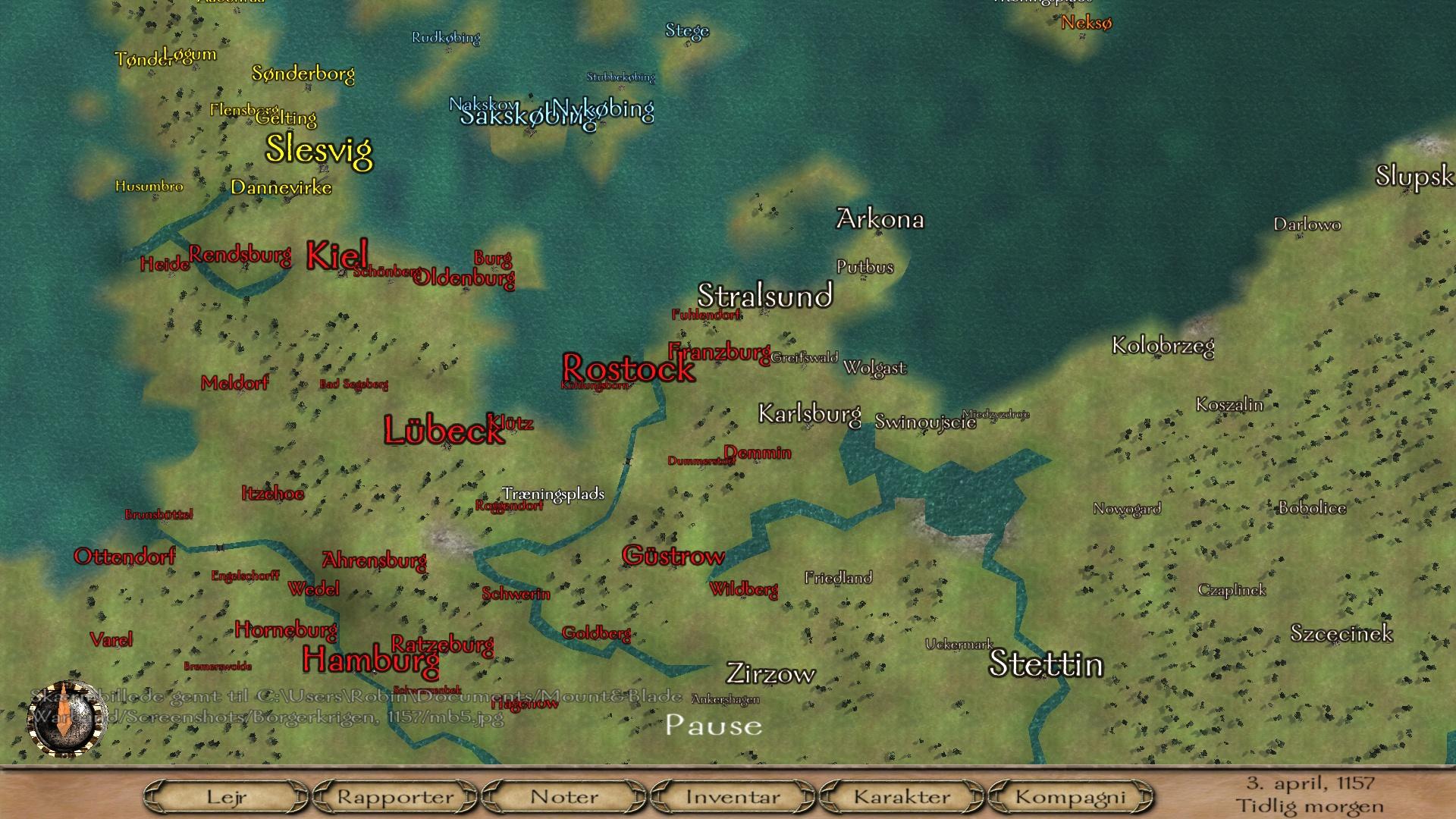 [SP][EN] Borgerkrigen 1157 (La guerra civil danesa 1157) Mb6