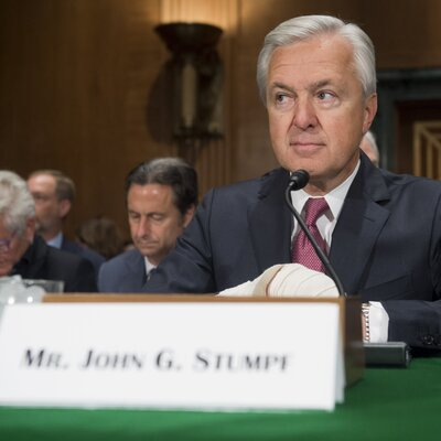 Wells Fargo CEO To Forfeit Tens Of Millions In Stock Awards Amid Scandal Gettyimages-608927650_sq-c4f00b893c76476b9db47c1c0c5b36bcee383e77-s400-c85