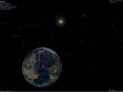 un log qui permet de voyager dans l'espace Visite-virtuelle-lespace-celestia-L-1