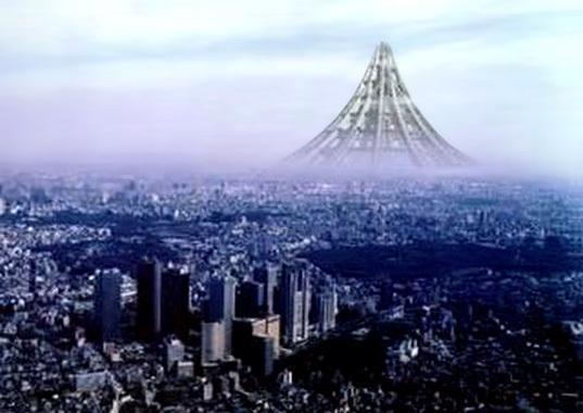 Projets impressionnants en architecture X-seed-4000-gratte-ciel-ultime-L-Kwpua8