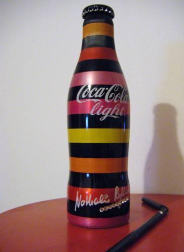 collection bouteille coca cola Nathalie-rykiel-habille-coca-light-L-1